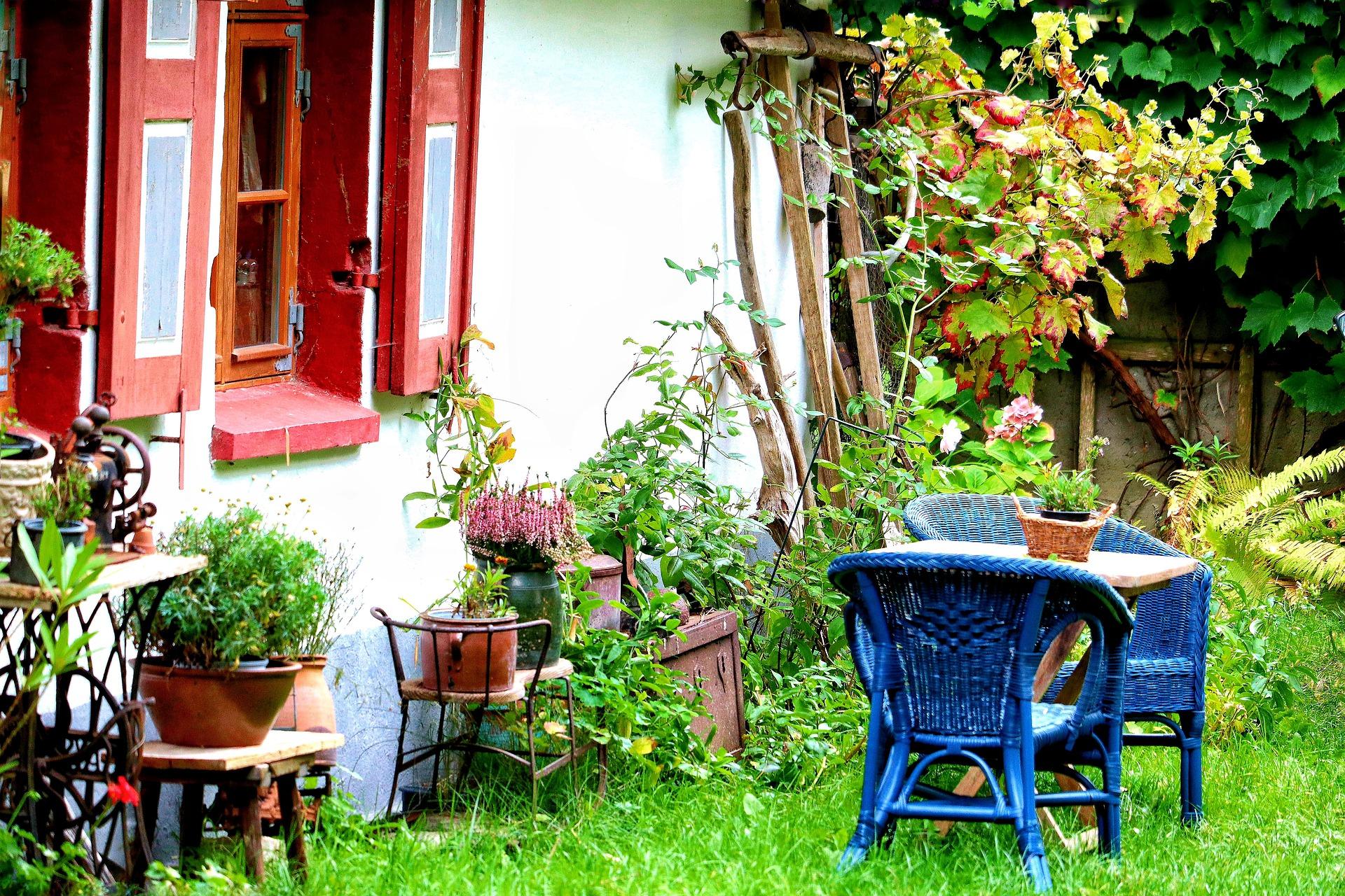 environmentally-friendly garden furniture